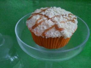 Caramel Crumble Cupcake