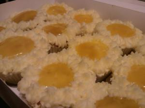 Citrus Delight Cupcake