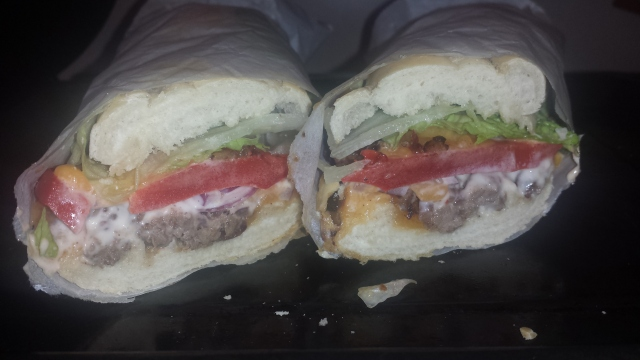 Steak & Cheese with Hot Fruitee Mayo
