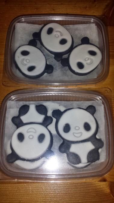 panda double BW